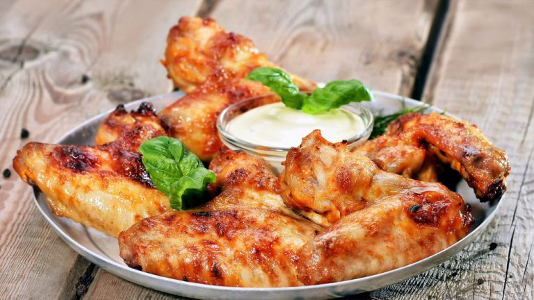 Ailes de poulet au Roquefort